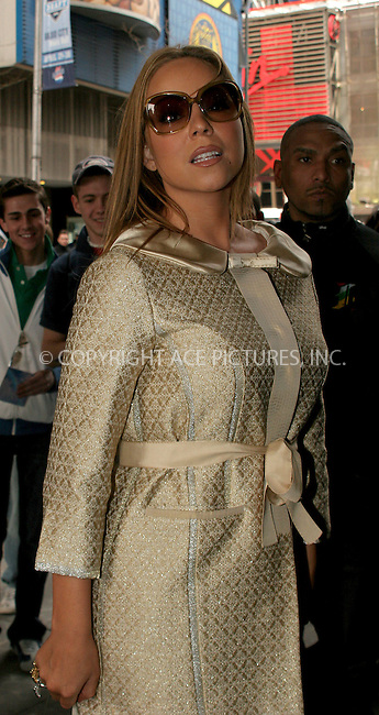 WWW.ACEPIXS.COM . . . . .  ....NEW YORK, APRIL 12, 2006....Mariah Carey makes a guest appearance at TRL.....Please byline: NANCY RIVERA- ACEPIXS.COM.... *** ***..Ace Pictures, Inc:  ..Craig Ashby (212) 243-8787..e-mail: picturedesk@acepixs.com..web: http://www.acepixs.com