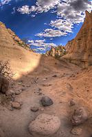 Kasha-Katuwe trail - New Mexico - Tent Rocks National Monument