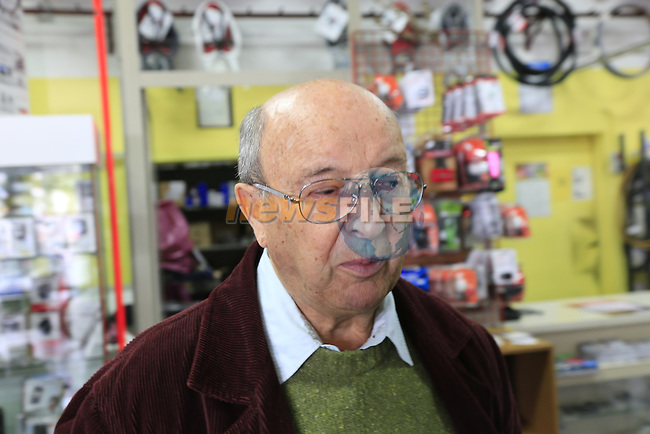 Founder Irio Tommassini still working at 84 and coming up with fresh ideas in the Tommasini factory based in Grosseto, Tuscany, Italy 6th March 2017.<br /> Picture: Eoin Clarke | Newsfile<br /> <br /> <br /> All photos usage must carry mandatory copyright credit (© Newsfile | Eoin Clarke)