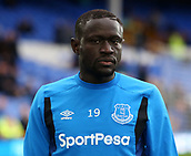 1st October 2017, Goodison Park, Liverpool, England; EPL Premier League Football, Everton versus Burnley; Oumar Niasse of Everton