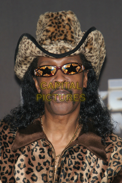 26 October 2005 - Los Angeles, California - Bootsy Collins.  25 Strong: The BET Silver 25th Anniversary Special - Press Room held at the Shrine Auditorium.  Photo Credit: Zach Lipp/AdMedia