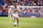 Real Madrid's player Luca Modric during the XXXVII Santiago Bernabeu Trophy in Madrid. August 16, Spain. 2016. (ALTERPHOTOS/BorjaB.Hojas)