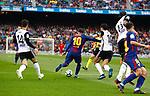 Messi, FC Barcelona 2 a 1 Valencia FC Jornada 32 de liga, 14 Abril 2018, Estadio Camp Nou, Barcelona. Photo Martin Seras Lima
