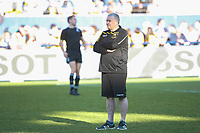 Chris Boyd coach of Northampton during the European Challenge Cup match between Clermont Ferrand and Northampton Saints at Stade Marcel Michelin on March 31, 2019 in Clermont-Ferrand, France. (Photo by Romain Biard/Icon Sport)