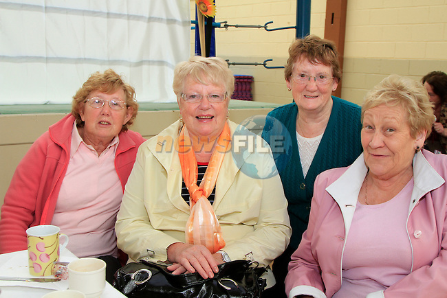 OliveBrady, Emily White, Lila Collins and Marian Tiernan.at the 20th Anniversary of the lifestyle development group..Picture Fran Caffrey www.newsfile.ie