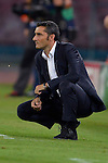 Ernesto Valverde head Coach of Athletic during the match between SSC Napoli and Athletic Club Bilbao, play-offs First leg Champions League at the San Paolo Stadium onTuesday August 19, 2014 in Napoli, Italy. (Photo by Marco Iorio)<br />