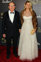 LOS ANGELES, CA, USA - DECEMBER 06: Fred Sands, Carla Sands arrive at The Music Center's 50th Anniversary Spectacular held at The Music Center - Dorothy Chandler Pavilion on December 6, 2014 in Los Angeles, California, United States. (Photo by Celebrity Monitor)