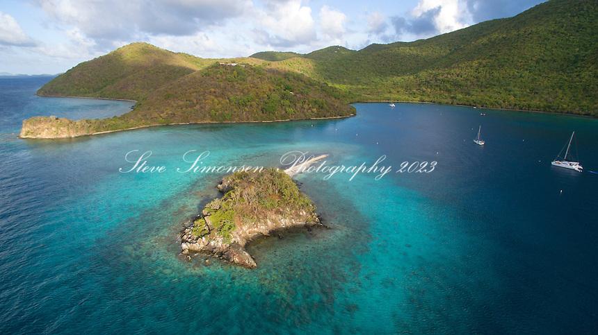 Leinster Bay / Watermelon Cay<br /> Virgin Islands National Park<br /> St. John<br /> US Virgin Islands