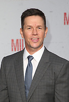 LOS ANGELES, CA - AUGUST 9: Mark Wahlberg at the Mile 22 premiere at The Regency Village Theatre in Los Angeles, California on August 9, 2018. Credit: Faye Sadou/MediaPunch