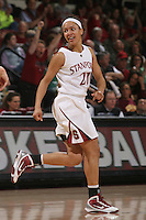 STANFORD, CA - JANUARY 28:  Rosalyn Gold-Onwude of the Stanford Cardinal during Stanford's 71-48 win over ASU on January 28, 2010 at Maples Pavilion in Stanford, California.