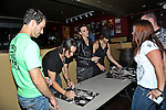 Josh Smith, Joe Hottinger, Lzzy Hale, and Arejay Hale of Halestorm perform at Bogarts in Cincinnati, Ohio.