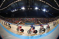 Picture by SWpix.com - 02/03/2018 - Cycling - 2018 UCI Track Cycling World Championships, Day 3 - Omnisport, Apeldoorn, Netherlands - Men's Points Race - Mark Stewart of Great Britain