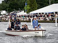 Henley Royal Regatta, Henley on Thames, Oxfordshire, 28 June - 2 July 2017.  Wednesday  15:24:22   28/06/2017  [Mandatory Credit/Intersport Images]<br /> <br /> Rowing, Henley Reach, Henley Royal Regatta.<br /> <br /> R C Phelps, Esq. Umpire