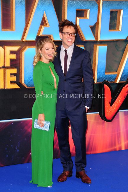 www.acepixs.com<br /> <br /> April 24 2017, New York City<br /> <br /> Jennifer Holland &amp; James Gunn arriving at the European Gala screening of 'Guardians of the Galaxy Vol. 2' at the Hammersmith Apollo on April 24, 2017 in London<br /> <br /> By Line: Famous/ACE Pictures<br /> <br /> <br /> ACE Pictures Inc<br /> Tel: 6467670430<br /> Email: info@acepixs.com<br /> www.acepixs.com