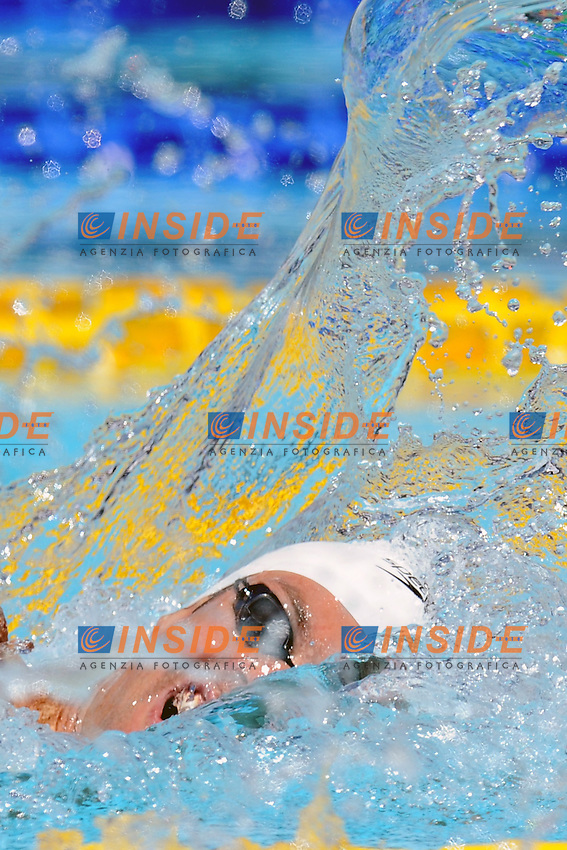 Gregory Mallet France.100m freestyle Men.Roma 15/6/2012 Foro Italico.Nuoto Swimming 49mo trofeo settecolli.Foto Antonietta Baldassarre Insidefoto