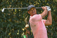 Tiger Woods (USA) watches his tee shot on 12 during round 2 of the World Golf Championships, Mexico, Club De Golf Chapultepec, Mexico City, Mexico. 2/22/2019.<br /> Picture: Golffile   Ken Murray<br /> <br /> <br /> All photo usage must carry mandatory copyright credit (© Golffile   Ken Murray)