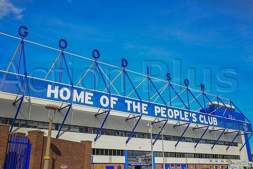 28th September 2017, Goodison Park, Liverpool, England; UEFA Europa League group stage, Everton versus Apollon Limassol; Goodison Park