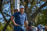 Jon Rahm (ESP) waits to tee off on 12 during round 1 of the World Golf Championships, Dell Match Play, Austin Country Club, Austin, Texas. 3/21/2018.<br /> Picture: Golffile | Ken Murray<br /> <br /> <br /> All photo usage must carry mandatory copyright credit (&copy; Golffile | Ken Murray)