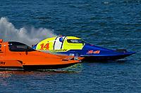 "Bobby King, S-92 ""Tenacity"", Grant Hearn, S-14 ""Legacy 2""    (2.5 Litre Stock hydroplane(s)"