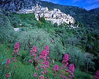 Hilltop Village of Peillon, Cote d'Azur Region, France    Near Nice   Near Mediterranean Sea