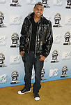 Singer Chris Brown arrives to the 2008 MTV Movie Awards on June 1, 2008 at the Gibson Amphitheatre in Universal City, California.