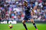 Jose Ignacio Martinez Garcia, Nacho, of Real Valladolid in action during the La Liga 2018-19 match between Real Madrid and Real Valladolid at Estadio Santiago Bernabeu on November 03 2018 in Madrid, Spain. Photo by Diego Souto / Power Sport Images