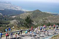A group of cyclists escaped during the stage of La Vuelta 2012 between La Robla and Lagos de Covadonga.September 2,2012. (ALTERPHOTOS/Paola Otero) /NortePhoto.com<br /> <br /> **CREDITO*OBLIGATORIO** <br /> *No*Venta*A*Terceros*<br /> *No*Sale*So*third*<br /> *** No*Se*Permite*Hacer*Archivo**<br /> *No*Sale*So*third*