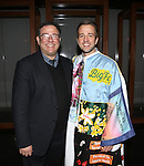 Michael Greif and Curtis Holbrook during the Broadway Opening Night  AEA Gypsy Robe Ceremony honoring Curtis Holbrook for  'IF/THEN' at the Richard Rodgers Theatre on March 30, 2014 in New York City.