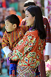 29.12.2017; Haa, Bhutan: PRINCE JIGME AND QUEEN JETSUN PEMA OF BHUTAN<br /> attend the National Day celebrations in Haa<br /> Mandatory Credit Photo: &copy;NEWSPIX INTERNATIONAL<br /> <br /> IMMEDIATE CONFIRMATION OF USAGE REQUIRED:<br /> Newspix International, 31 Chinnery Hill, Bishop's Stortford, ENGLAND CM23 3PS<br /> Tel:+441279 324672  ; Fax: +441279656877<br /> Mobile:  07775681153<br /> e-mail: info@newspixinternational.co.uk<br /> Please refer to usage terms. All Fees Payable To Newspix International