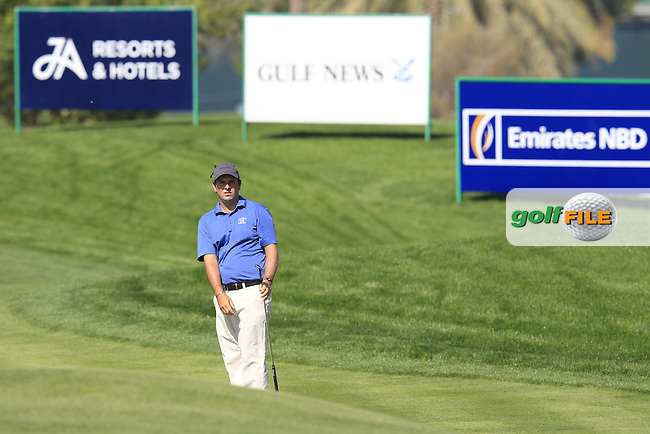 Thomas AIKEN (RSA) chips into the 10th green during Thursday's Round 1 of the 2015 Omega Dubai Desert Classic held at the Emirates Golf Club, Dubai, UAE.: Picture Eoin Clarke, www.golffile.ie: 1/29/2015
