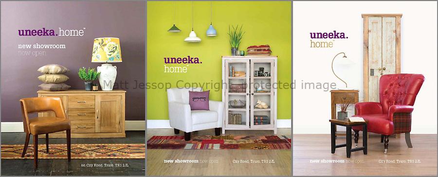 CLIENT: UNEEKA www.uneeka.com // <br /> PROJECT: Print and Website // DESIGN: ALEX GRAHAM www.alexgrahamdesign.co.uk // STYLIST: Kelly Moorfield
