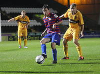 Anton Brady in the St Mirren v Motherwell Clydesdale Bank Scottish Premier League U20 match played at St Mirren Park, Paisley on 10.9.12.