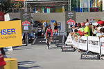 Jelle Wallays (BEL) Lotto-Soudal during Stage 1 of the La Vuelta 2018, an individual time trial of 8km running around Malaga city centre, Spain. 25th August 2018.<br /> Picture: Ann Clarke | Cyclefile<br /> <br /> <br /> All photos usage must carry mandatory copyright credit (© Cyclefile | Ann Clarke)