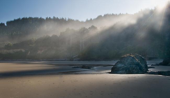 Near Bandon, Oregon on the Oregon Coast