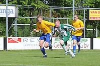 VOETBAL: JOURE: Sportpark Hege Simmerdyk, 17-05-2014, SC Joure za - Ajum, Eindstand 2-2, nacompetitie, ©foto Martin de Jong