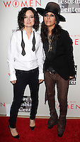"BEVERLY HILLS, CA, USA - MAY 10: Sara Gilbert, Linda Perry at the ""An Evening With Women"" 2014 Benefiting L.A. Gay & Lesbian Center held at the Beverly Hilton Hotel on May 10, 2014 in Beverly Hills, California, United States. (Photo by Celebrity Monitor)"