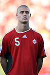 01 July 2007: Canada's Marcus Haber. At the National Soccer Stadium, also known as BMO Field, in Toronto, Ontario, Canada. Chile's Under-20 Men's National Team defeated Canada's Under-20 Men's National Team 3-0 in a Group A opening round match during the FIFA U-20 World Cup Canada 2007 tournament.