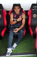 Swansea City's Jefferson Montero prior to the Sky Bet Championship match between Sheffield United and Swansea City at Bramall Lane, Sheffield, England, UK. Saturday 04 August 2018