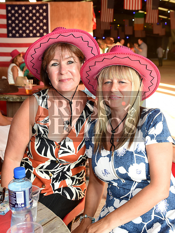Angela Chaney and Margaret Reddy at the NECRET Barn Dance in Cushinstown AC. Photo:Colin Bell/pressphotos.ie