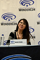 Jessica Tseang at Wondercon in Anaheim Ca. March 31, 2019