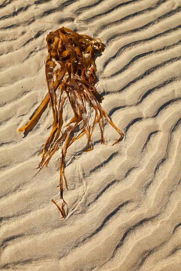 Tidal Patterns (Diseños de marea) Tràigh Uuige - Androil Beach. Lewis island. Outer Hebrides. Scotland, UK