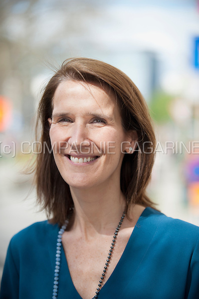Sophie Wilmès, MR politician and Belgian Minister of the Budget (Belgium, 15/04/2016)