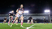 Picture by Allan McKenzie/SWpix.com - 09/03/2018 - Rugby League - Betfred Super League - Warrington Wolves v St Helens - Halliwell Jones Stadium, Warrington, England - GV of St Helens warming up, Tommy Makinson.