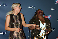 """LOS ANGELES - AUG 27:  Julianne Hough, Jackie Fabulous at the """"America's Got Talent"""" Season 14 Live Show Red Carpet at the Dolby Theater on August 27, 2019 in Los Angeles, CA"""