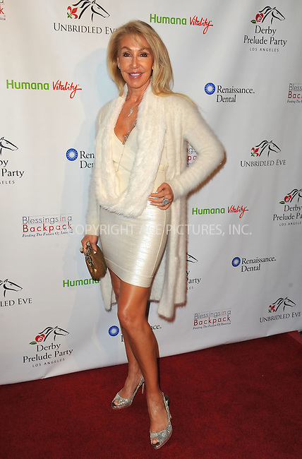 WWW.ACEPIXS.COM<br /> <br /> January 9 2014, LA<br /> <br /> Linda Thompson arriving at the 5th Annual Los Angeles Unbridled Eve Derby Prelude Party, The London West Hollywood, West Hollywood, CA January 9, 2014<br /> <br /> By Line: Peter West/ACE Pictures<br /> <br /> <br /> ACE Pictures, Inc.<br /> tel: 646 769 0430<br /> Email: info@acepixs.com<br /> www.acepixs.com