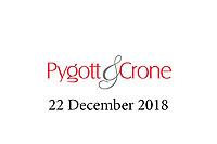 Pygott & Crone - 22 December 2018