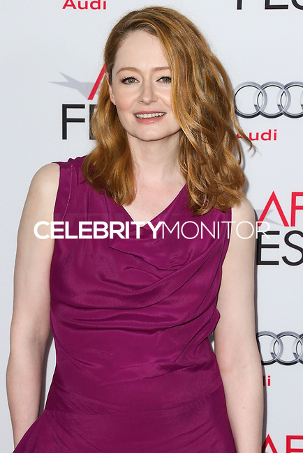 HOLLYWOOD, LOS ANGELES, CA, USA - NOVEMBER 11: Miranda Otto arrives at the AFI FEST 2014 - 'The Homesman' Gala Screening held at the Dolby Theatre on November 11, 2014 in Hollywood, Los Angeles, California, United States. (Photo by Xavier Collin/Celebrity Monitor)