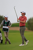 Cormac Sharvin (NIR) on the 7th fairway during the 2nd round of  the Saudi International powered by Softbank Investment Advisers, Royal Greens G&CC, King Abdullah Economic City,  Saudi Arabia. 31/01/2020<br /> Picture: Golffile | Fran Caffrey<br /> <br /> <br /> All photo usage must carry mandatory copyright credit (© Golffile | Fran Caffrey)