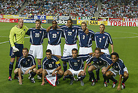 USA starting eleven. The USA lost to Germany 1-0 in the Quarterfinals of the FIFA World Cup 2002 in South Korea on June 21, 2002.