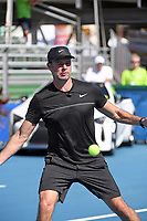 DELRAY BEACH, FL - NOVEMBER 05: Scott Foley participates in the 28th Annual Chris Evert/Raymond James Pro-Celebrity Tennis Classic at Delray Beach Tennis Center on November 5, 2017 in Delray Beach, Florida<br /> CAP/MPI/HOO<br /> &copy;HOO/MPI/Capital Pictures